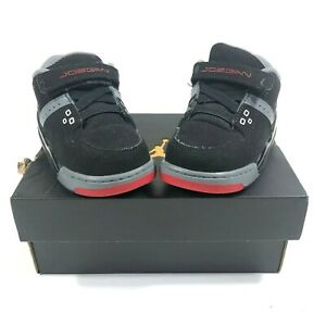 d088c9d02394 Nike Air Jordan Flight 23 BT 7C Shoes Black Gym Red Cool Grey 317823 ...