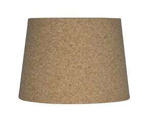 Urbanest cork drum lampshade 10 inch by 12 inch by 85 inch spider image is loading urbanest cork drum lampshade 10 inch by 12 aloadofball Images