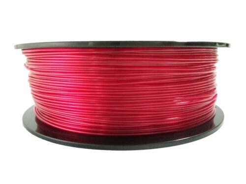 5 Metres Premium //-0.02mm 14 Colours Clear//Opaque PETG 1.75mm 3D Pen Filament