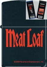 Zippo 218 meat loaf music Lighter with *FLINT & WICK GIFT SET*