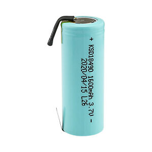 Kasar-NCR18500A-18500-3-7V-1600mAh-LI-ION-Rechargeable-Battery-w-Tabs