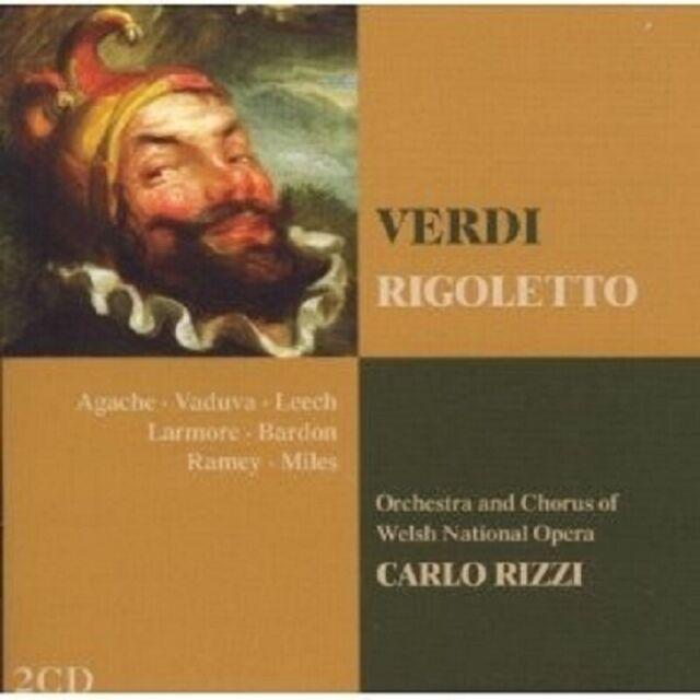 CARLO/OWNO/LEECH/AGACHE/ RIZZI - RIGOLETTO 2 CD NEU