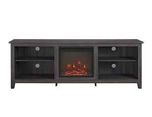 Walker Edison Furniture 70 Wood Media Tv Stand Console With