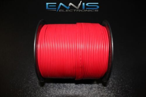 18 GAUGE WIRE PICK 2 COLORS 100 FT EA PRIMARY AWG STRANDED COPPER POWER REMOTE