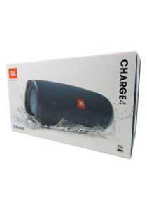 JBL Charge 4 Portable Waterproof Wireless Bluetooth Speaker Blue Authentic