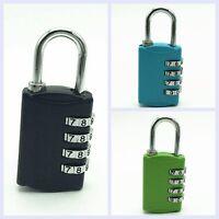 4 Dial Digit Combination Luggage Suitcase Metal Code Password Padlock Lock New