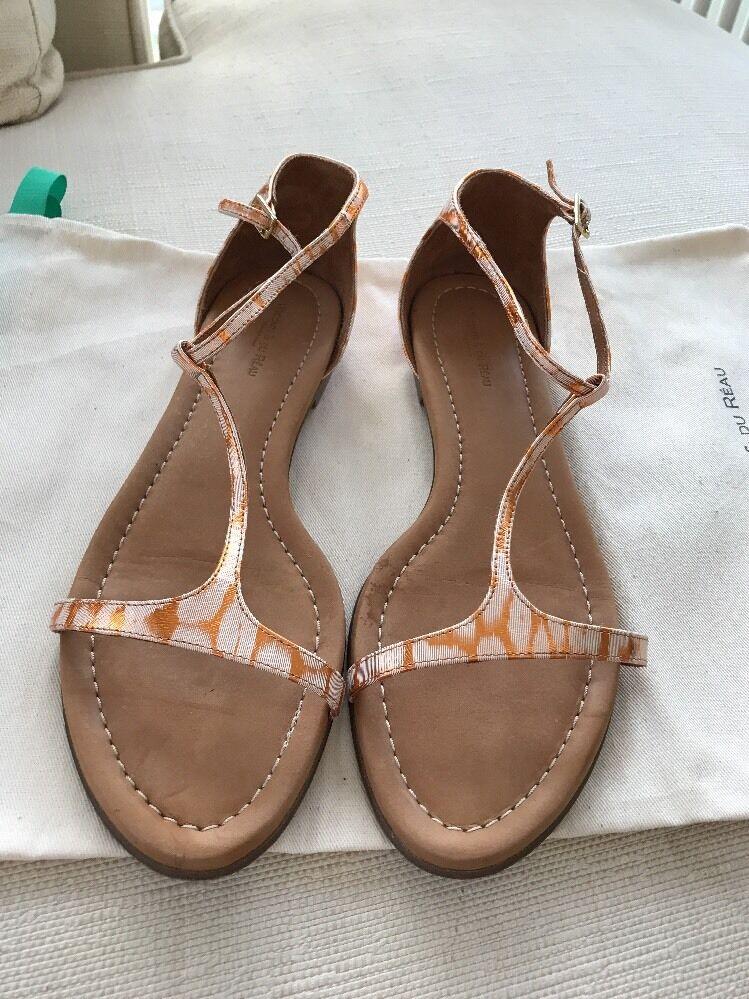Visconti & & & tú laque sandals Talla 40. almost New  alta calidad