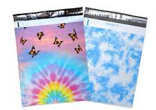 14x1719x24 Monarch Tye Dye Butterfly Cloudy Sky Poly Mailers Shipping Mailing