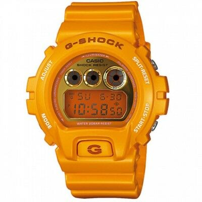 Casio G-Shock DW-6900SB-9 Mango Digital Mens Watch Metallic Yellow DW-6900