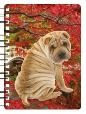 SHAR PEI 3D NOTEBOOK pad  Ideal Christmas stocking filler