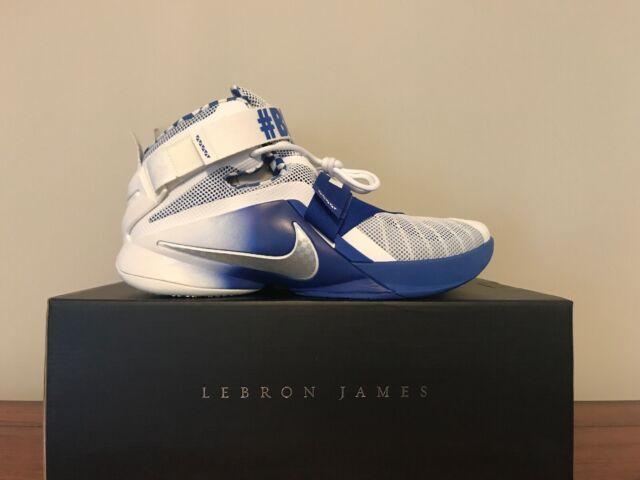 online store bd79c dfbfa Nike Lebron Soldier IX PRM Kentucky BBN Wildcats 749490-104 Men's Sz 11
