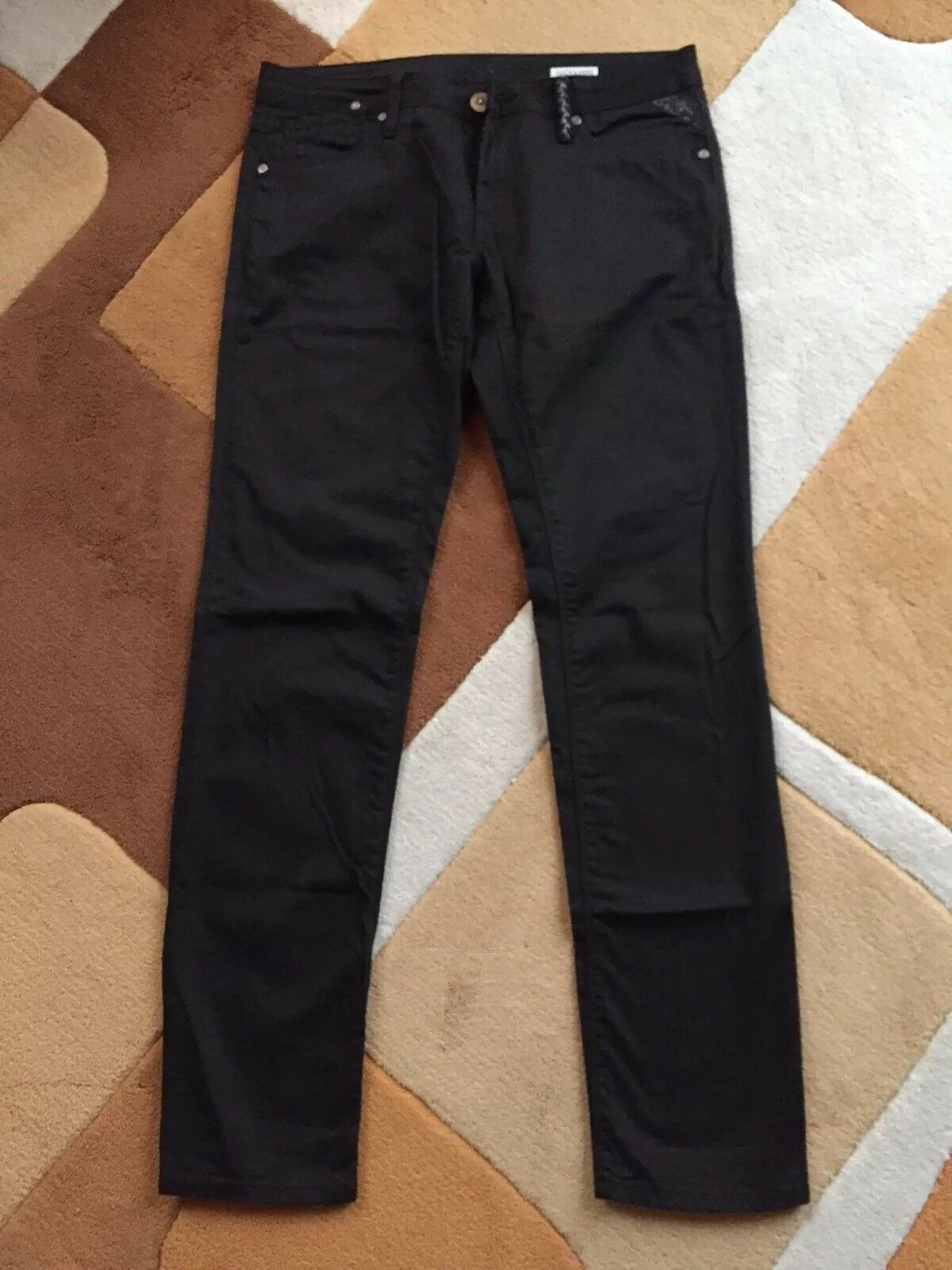 Replay Jeans Hose Rockxanne schwarz 30 32 Neu