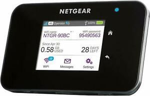 NETGEAR AC810-100EUS AirCard Mobile Hotspot Wireless 3G/4G LTE GSM Modem Router