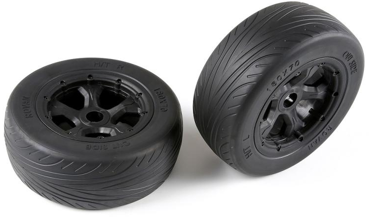 Rovan LT highway tire set for  1 5 losi 5ive-T baja 4wd parts  offrendo il 100%
