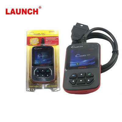 Launch Creader VI Creader 6 Car OBDII Code Reader 6 VI Scanner Color Screen