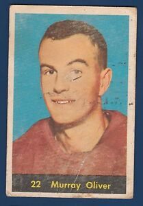 MURRAY-OLIVER-RC-60-61-PARKHURST-1960-61-NO-22-LOW-GRADE-4496