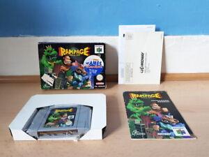 Rampage World Tour N64 Completo Raro