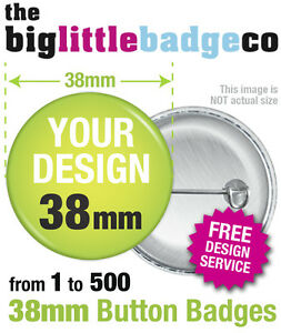 CUSTOM-38mm-BADGES-PERSONALISED-BESPOKE-BANDS-HEN-STAG-WEDDING-FREE-DESIGN