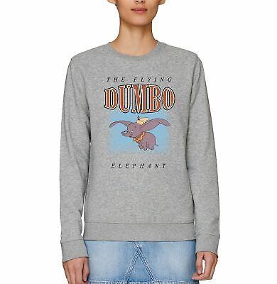 Dumbo The Flying Elephant Adults Unisex Black Hoodie