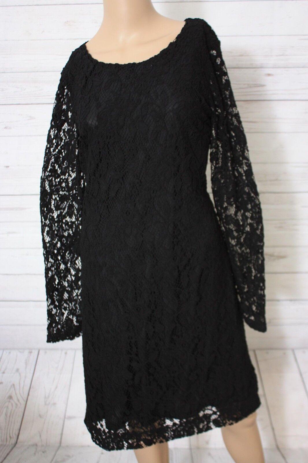 More&More Damen Kleid, Gr. 42, Schwarz