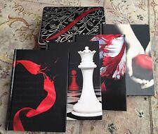 The Twilight Saga Hardback Note Book Collection Set In Metal Presentation Box