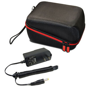 Hqrp Ac Adapter Hard Case For Omron 5 Series Bp742 Bp742n Blood