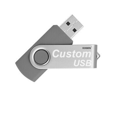 Lot 5 8G USB Flash Drive 8GB Thumb Jump Swivel Memory Pen Key Stick Bulk Pack