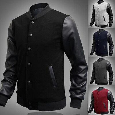 New Men's fashion casual jacket cotton warm winter coat slim outwear jacket