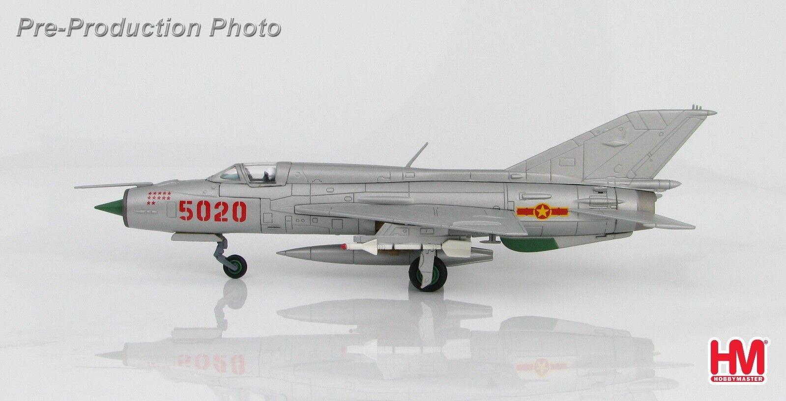 Hobby Master HA0191 1 72 MIG-21PFM  FISHBED  927th  Lam hijo , 5 de Julio de 1972 MiG21