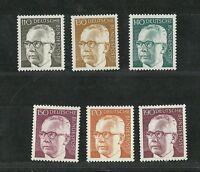 Deutsche Bundespost 1972: Freimarken - Heinemann, Ergänzungswerte
