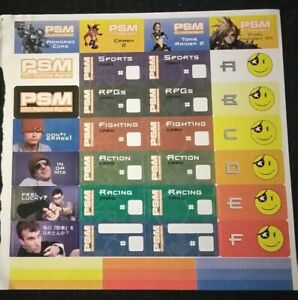 PlayStation-1-Official-Sony-Playstation-Magazine-Memory-Card-Sticker-Sheet-Rare