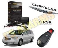 2014 Chrysler Town & Country Van Plug & Play Add On Remote Start Push Start