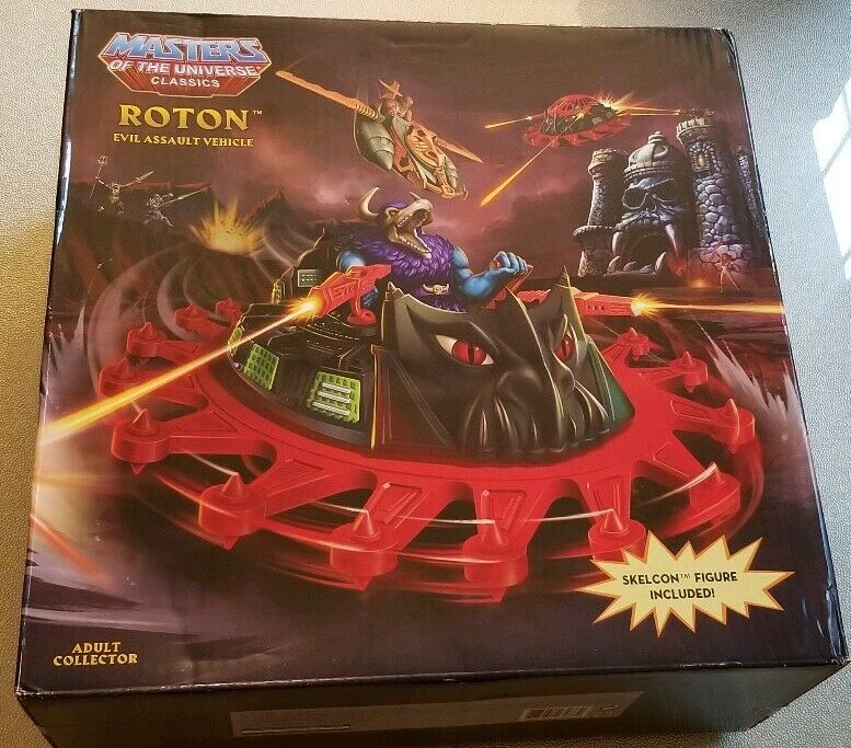 MOTUC ROTON vehicle mib misb masters of the universe motu w o Skelcon skelecon