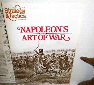 Strategy-amp-Tactics-w-Games-75-Napoleon-039-s-Art-of-War-2-Battles-Dresden-Eylau-UNP
