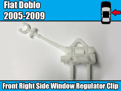 Window Regulator Repair Clip Kit For Fiat Doblo 2005-2009 Front Right Side Door