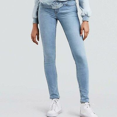 Pantalones Levis – 710 Super Skinny Indigo Splash azul