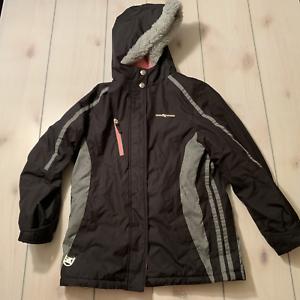 Girls 16 Zeroxposur Winter Jacket Coat Outer Shell Black