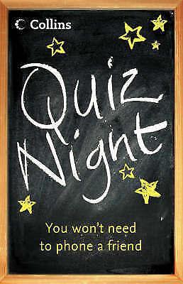 Collins Quiz Night, HarperCollins Publishers, Collins UK, Excellent Book