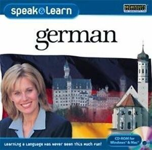 Speak-amp-Learn-German-XP-Vista-7-8-10-MAC-New-Sealed-Fast-amp-Fun-Way-to-Learn