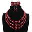 Women-Bohemian-Choker-Chunk-Crystal-Statement-Necklace-Wedding-Jewelry-Set thumbnail 154