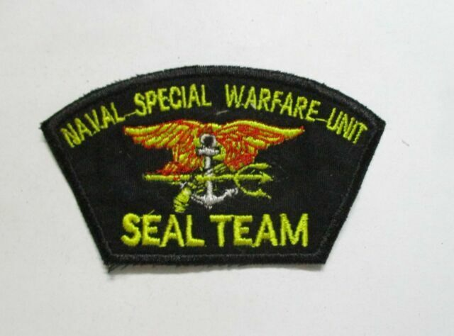 Seal Team Trident Patch US Navy Special Warfare