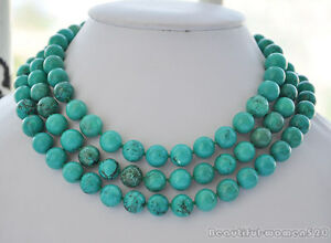 10mm-round-green-turquoise-bead-necklace-female-rounds-beads-chain-new