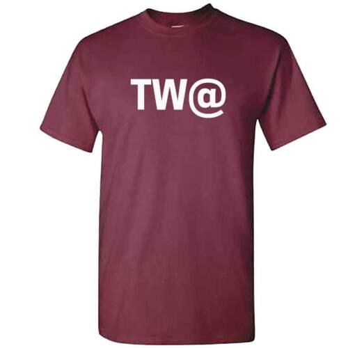 Homme TW @ T-Shirt-Touat T-Shirt-Drôle Rude assermentation Top-Private Joke-Mec