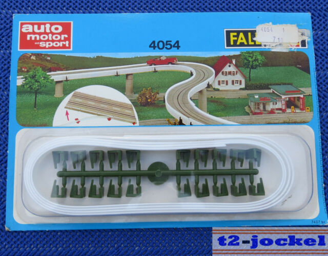 Faller Ams 4054 Guardrails for Single Lane Roadway Boxed