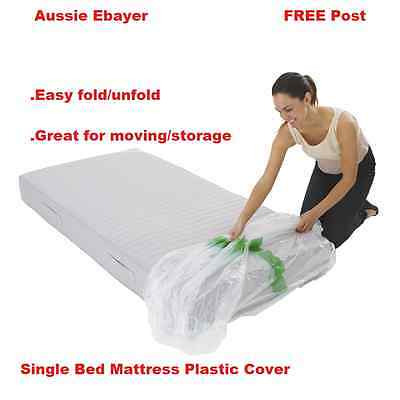 Single Size Mattress Protector Plastic, Queen Size Bed Plastic Cover