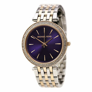 Michael Kors MK3353 Ladies Darci Two Tone Watch   eBay 55d680fd66