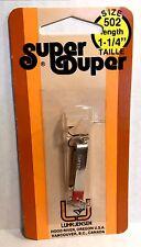 """Luhr-Jensen Vintage Super Duper Nickel/ Red Head Size 502 length 1-1/4"""""""