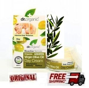 dr organic olive oil day cream