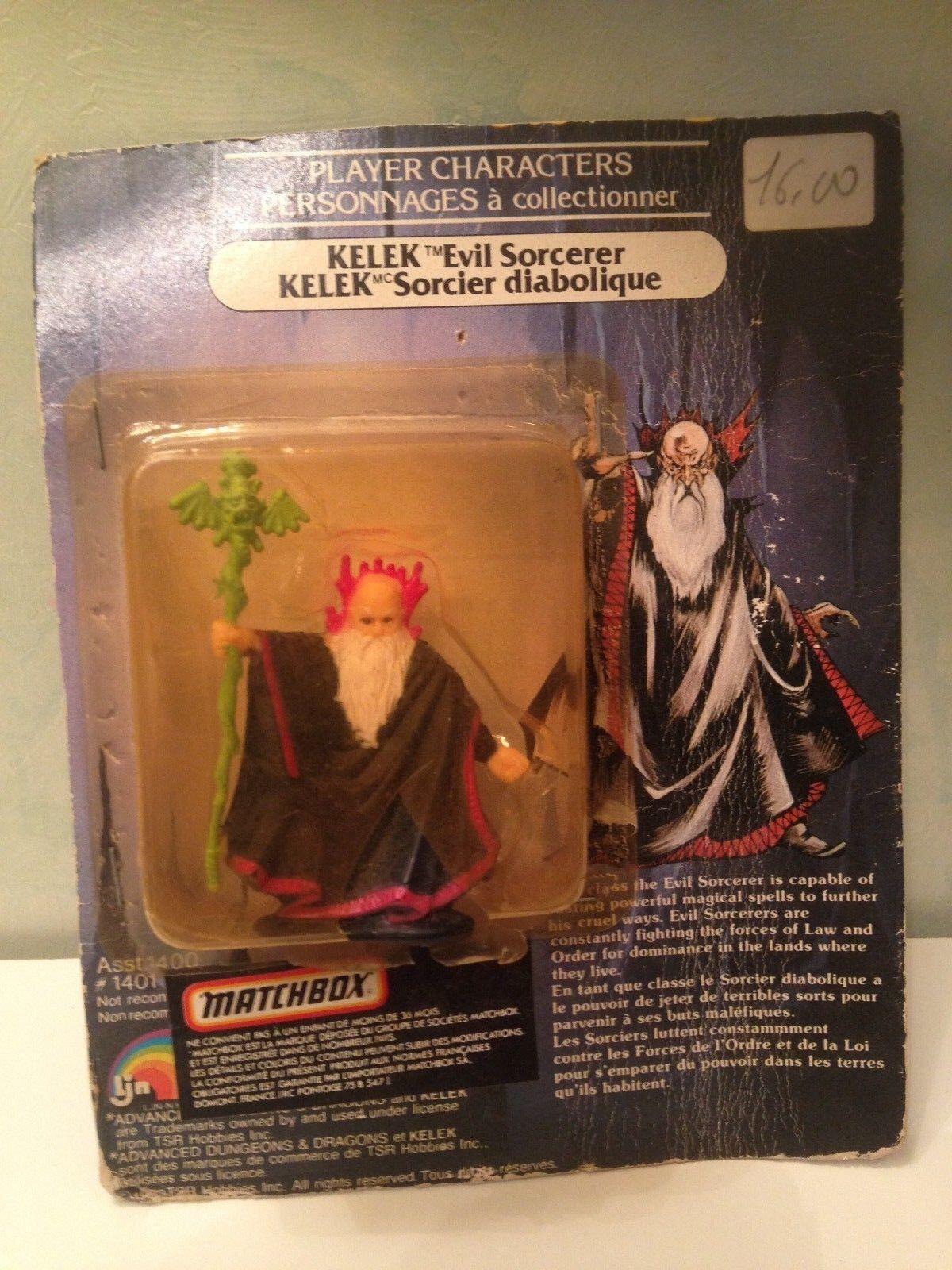 Mini figurine Dungeons Dragons Kelek 6cm Matchbox vintage