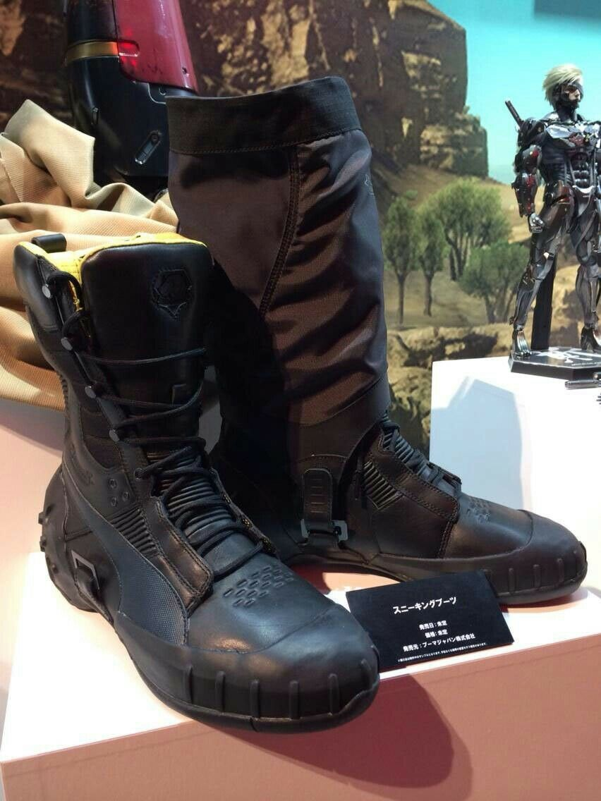 Puma Sneaking bottes x MGSV Metal Gear Solid V Tactical Bottes Homme Taille 12